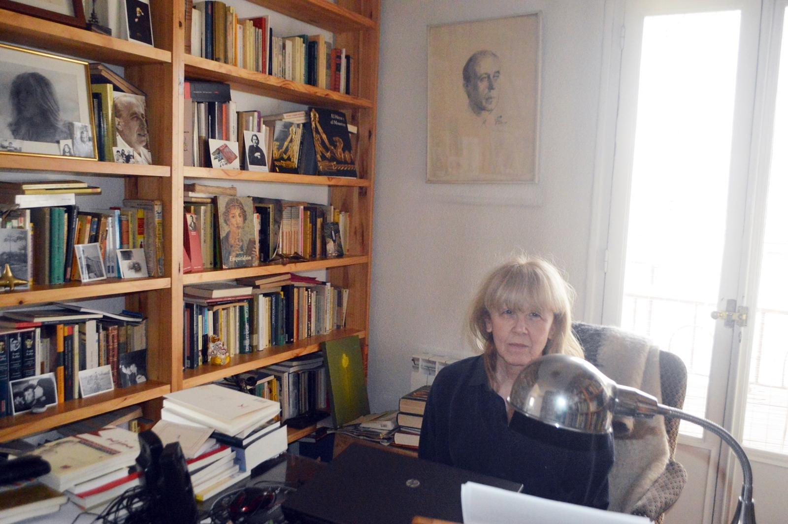 Sonia García Sobriet en su despacho