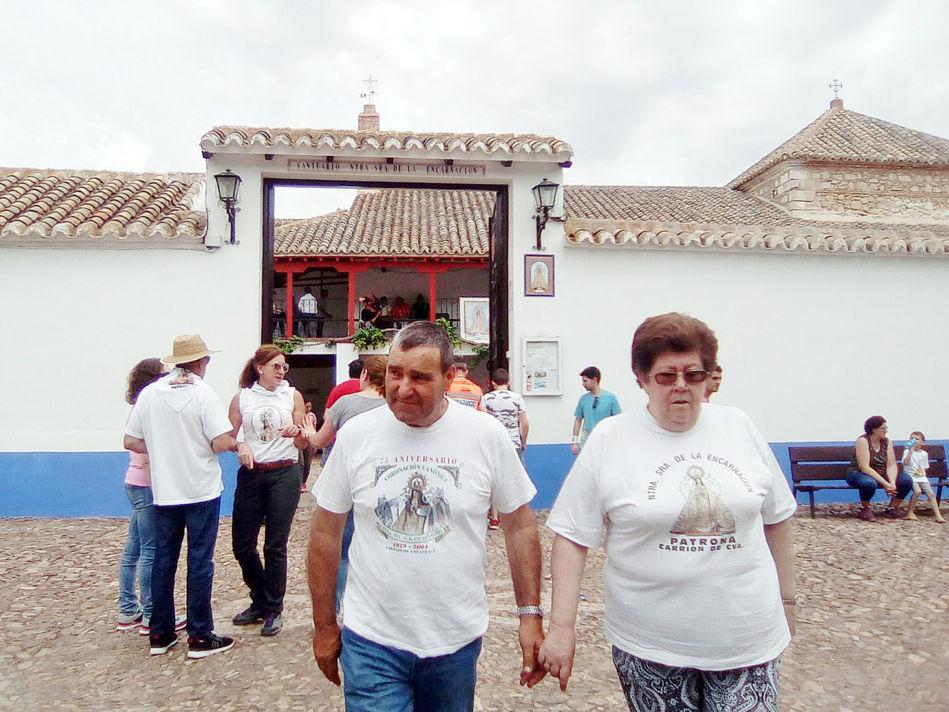La muerte del joven ha entristecido a los participantes en la romería