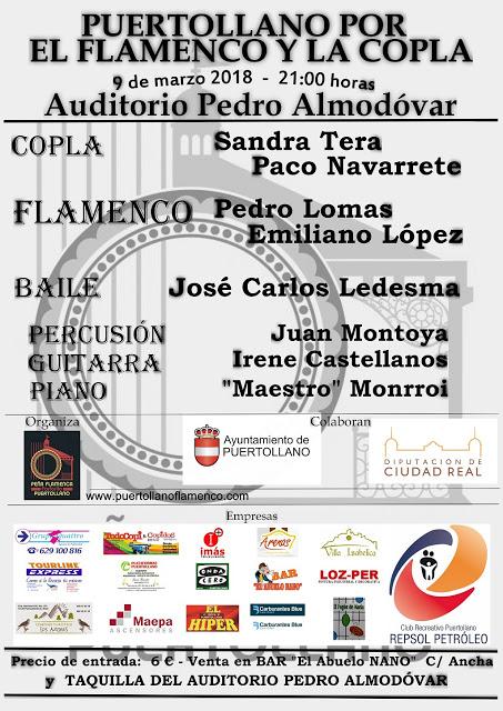 El auditorio acoger el d a 9 puertollano por el flamenco - El tiempo en puertollano por horas ...
