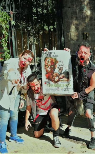 Presentación de la Survival Zombie de Terrinches / Lanza