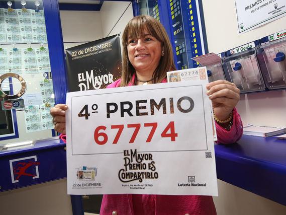Una administración de Lotería en el Carrefour de Ciudad Real ...