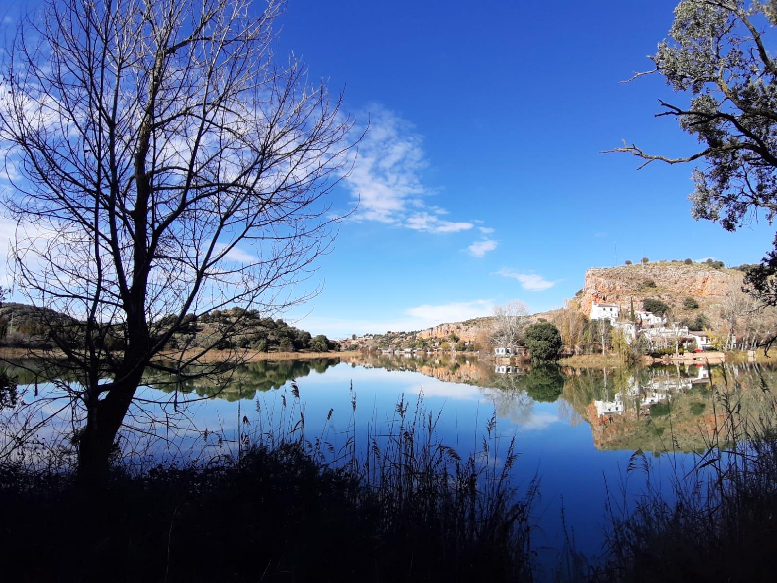 El parque natural de las Lagunas de Ruidera  el pasado noviembre /J. González
